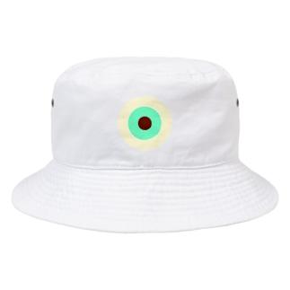 サークルa・クリーム・ペパーミント・チョコ Bucket Hat