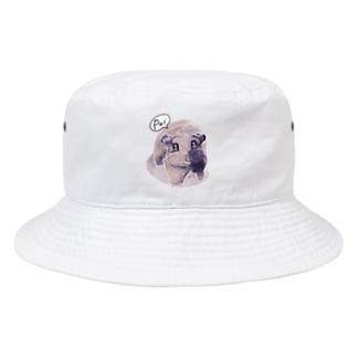 トテトテ-ミルキー Bucket Hat