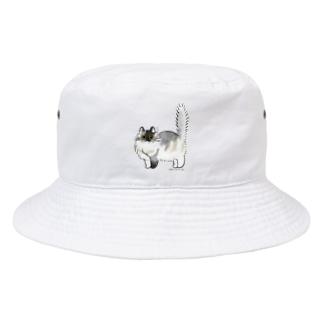コロン (正面のみ) Bucket Hat