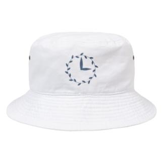 時計/grass Bucket Hat