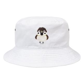 スズメがちゅん Bucket Hat