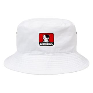 赤ちゃん載ってます(パロディー) Bucket Hat