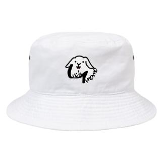 【uncle momo】ロゴ Bucket Hat