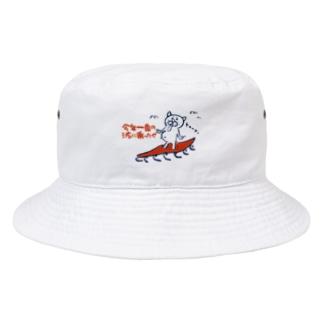ノリノリサーファー ゲヒカワちゃん Bucket Hat