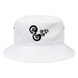 アヒルの親子 Bucket Hat