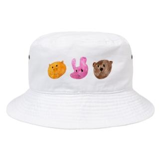 どうぶつたち Bucket Hat
