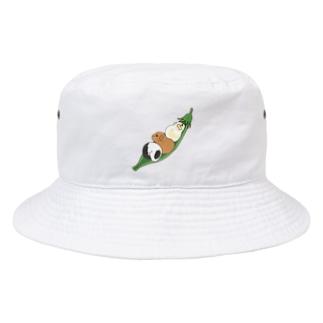 えんどう豆とモルモット Bucket Hat