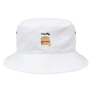 koto___art.のUnhealthy Bucket Hat