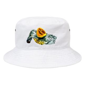 かぼちゃとアルミホイル(枠なしver) Bucket Hat