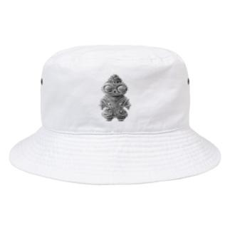 遮光器土偶さん Bucket Hat