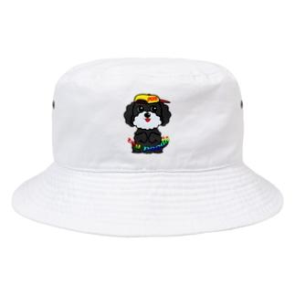 ちんちんトイプードル Bucket Hat