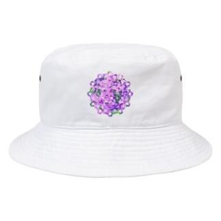 レース編み~芝桜~ Bucket Hat