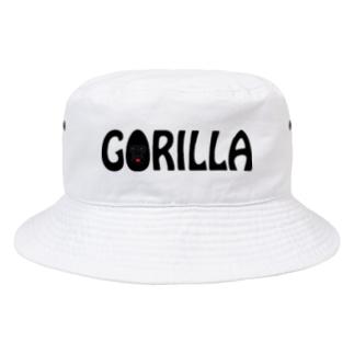 GORILLA(英字+1シリーズ) Bucket Hat