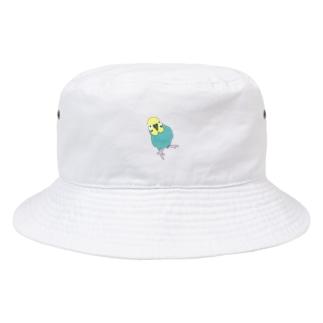 レインくんカラーワンポイントバケハ Bucket Hat