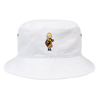 ギター少女 Bucket Hat