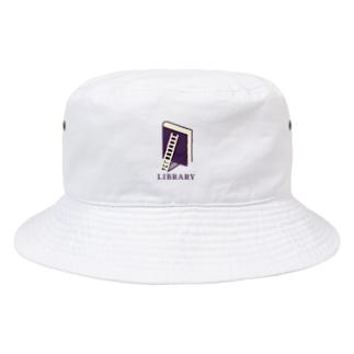 本のライブラリー Bucket Hat