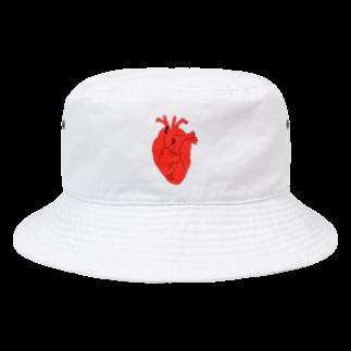 がつの心臓 Bucket Hat