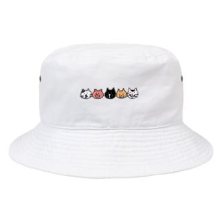 にゃんぶ〜!? Bucket Hat