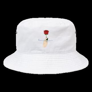 kameyoui (カミユイ)のkameyoui_ROSE Bucket Hat
