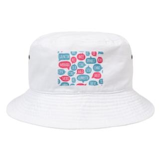 世界各国 ciaoチャオ 外国語あいさつ Bucket Hat