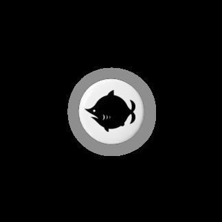 劇団鮫軟骨の劇団鮫軟骨ロゴ缶バッチ Badges