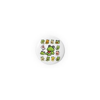 カエルくんたくさん2 Badges
