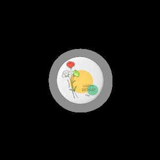 tukurunoの〈誕生花〉5月生まれの君へ Badges