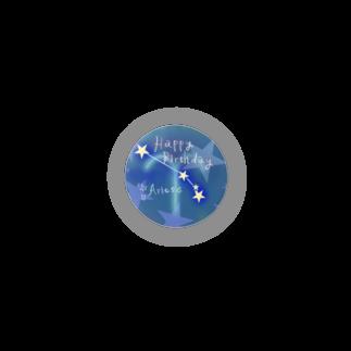 tukurunoの〈12星座〉おひつじ座の君へhappy birthday★ Badges