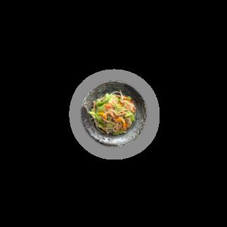 ベジタリアンタイ料理*ニコニコレストランのお店のパッタイの缶バッチ Badges