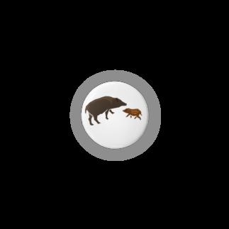 しまのなかまfromIRIOMOTEのしまのなかま カマイ(リュウキュウイノシシ) Badges