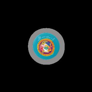 国道沿い商会のラーメン【あんみつラーメン】 Badges