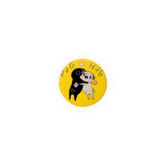 パグ❤︎ハグ Badges