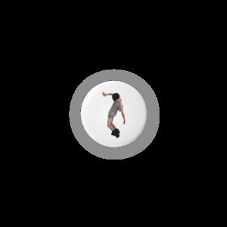 ジャンプ力に定評のある前田のSAKURA Badges
