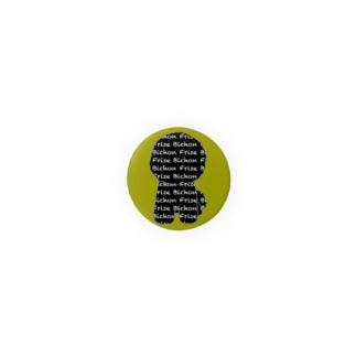 ロゴビション ブラック&カーキ Badges