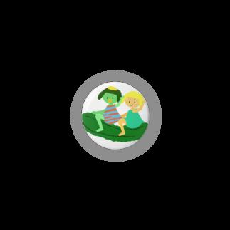 キューカンバー・ガールのキューカンバー・ガール(ライドン) Badges