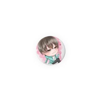 たっちゃんカムバッジ(ピンク) Badges