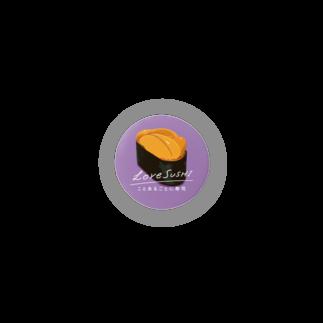 ことあるごとに寿司の寿司缶バッジ(うに)  Badges