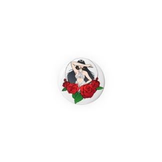 薔薇と彼女 Badges