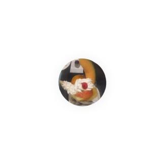 フルーツクリームパフェ Badges