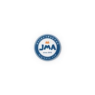 JMA缶バッチ Badges