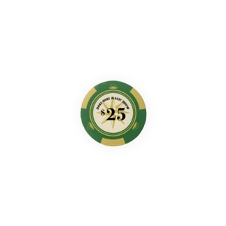 CASINO CHIPS($25) Badges