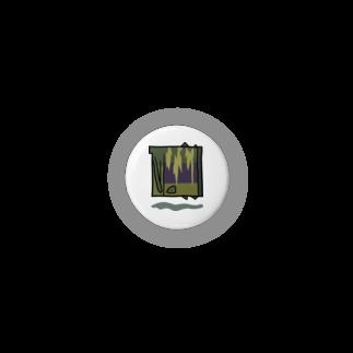 岩間創作室の四角いサケ Badges