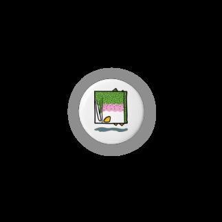 岩間創作室の四角いニジマス Badges