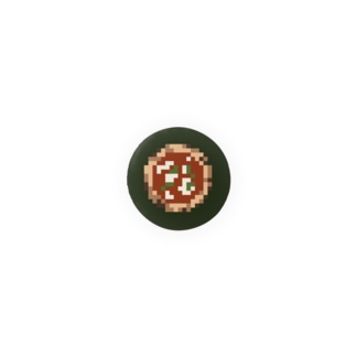 ピザ Badges