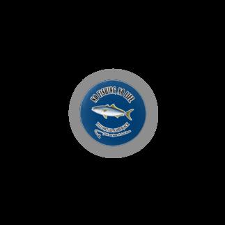 猫と釣り人のヒラマサ_2B_CB Badges