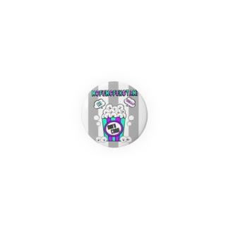 モフモフの民 ポップコーン Badges