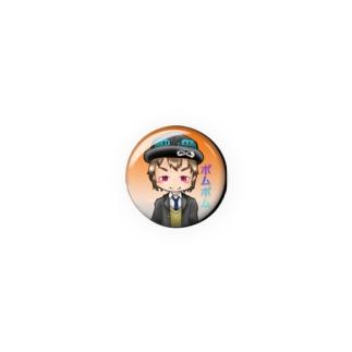 ポムくん缶バッチ Badges