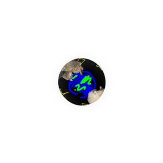 宇宙×猫 Badges