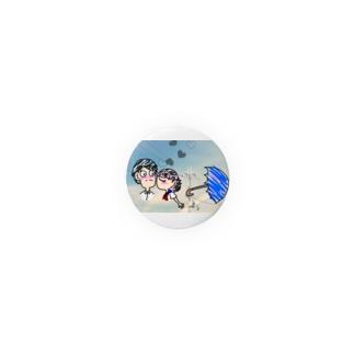 恋と傘 Badges