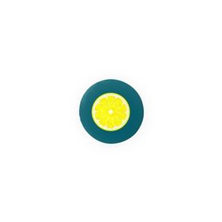 輪切りレモン Badges